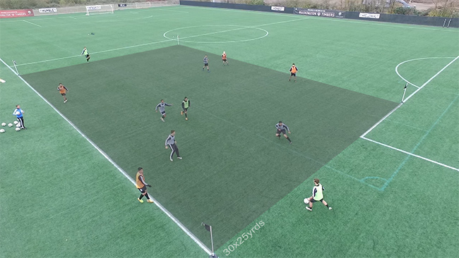 Soccer Transition Game